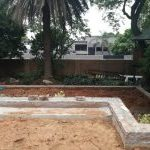 Dealing with formal terraced gardens