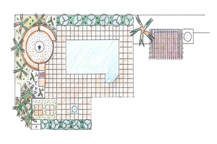 A garden design that will bring the outdoors in.