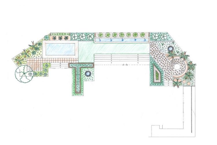 Garden seen as part of the home and not separate entity.