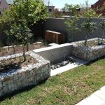 A retaining section can be multi purposed in the garden