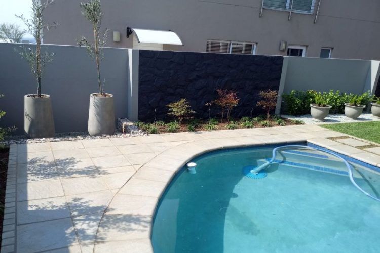 Swimming Pool Looks at home in this garden Setting